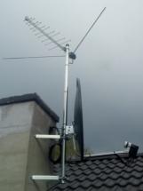 Anteny na kominie