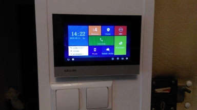 Monitor dotykowy Videodomofonowy IP Leelen